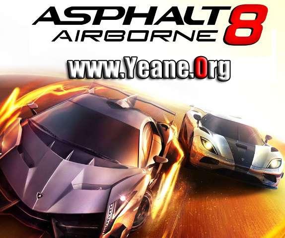 Asphalt 8 Airborne v1 (apk+obb)  {Android}
