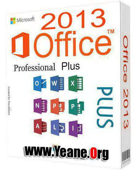 Microsoft Office ProPlus 2013 (64 and 32Bit) به‌رنامه‌+كراك