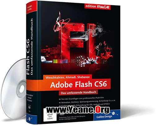 Adobe Flash Professional CS6 بهرنامه+كراك