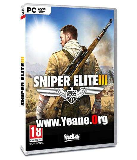 Sniper Elite 3 PC full Game + DLC یاری بۆ كۆمپیتهر
