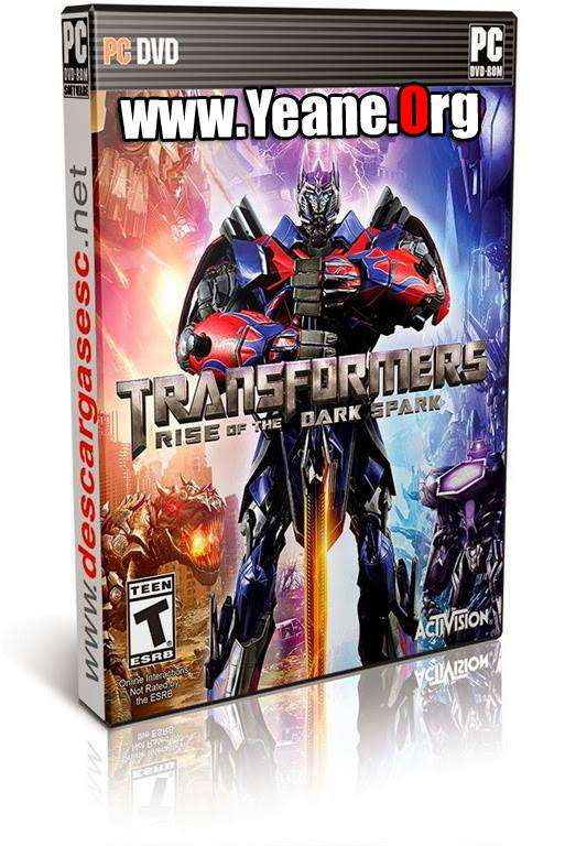Transformers Rise of the Dark Spark PC یاری بۆ كۆمپیته‌ر