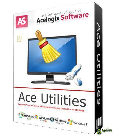 Ace Utilities (بهرنامه و فێكاری رونكردنهوه)