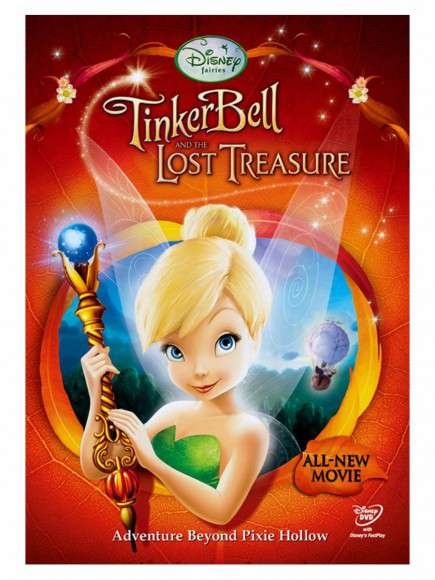 Tinker Bell and the Lost Treasure (2009) BluRay 720p