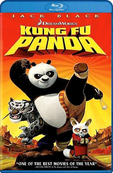 Kung Fu Panda (2008) 720p and 1080p