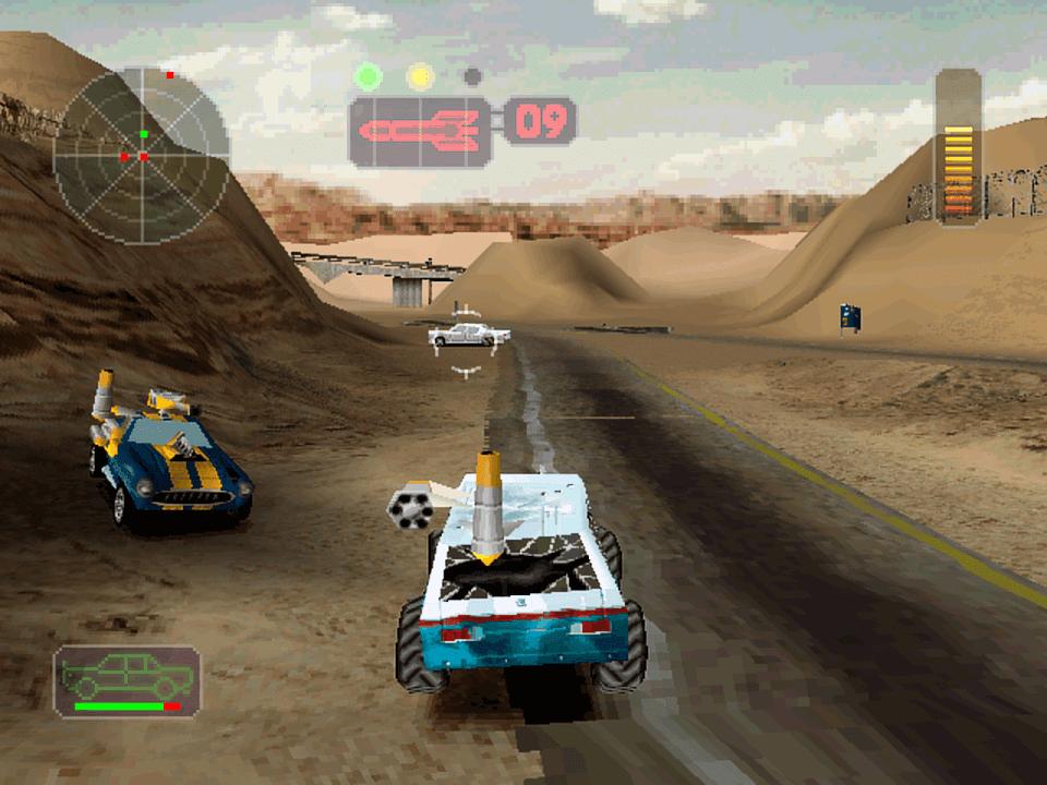 خۆشترین یاری داگره بۆ كۆمپیوتهر Vigilante 8  (PC GAME) 12MB