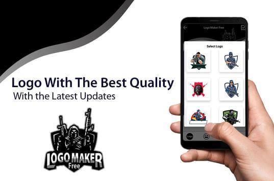Logo Esport Maker   Create Logo Gaming screenshot 1